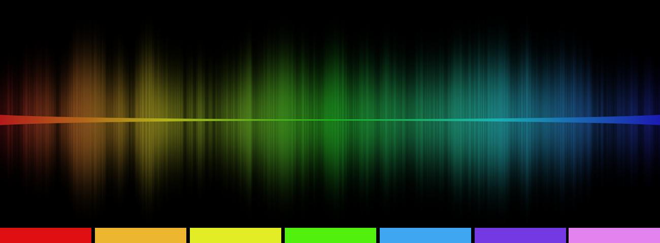 Frequenzen mit Farben